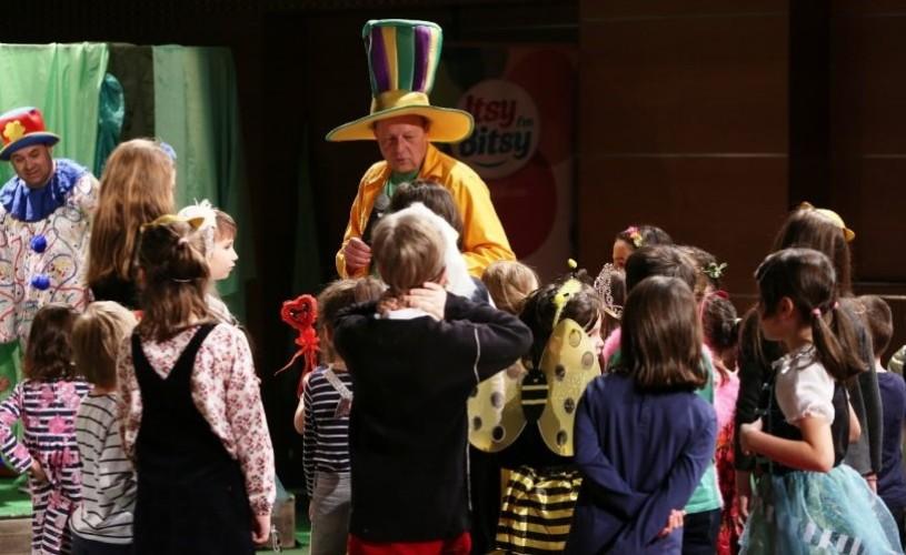 """Teatrul Național pentru Copii """"Abracadabra"""", în Duminica Floriilor"""