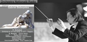Stabat Mater, de G. Rossini, operă în concert la Sala Radio, cu Orchestra Națională Radio
