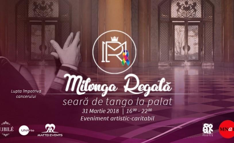 """""""Milonga Regală. Seară de tango la Palat"""",  un eveniment artistic în scop caritabil la MNAR"""