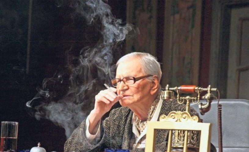 Balada chiriașului grăbit, de George Topîrceanu, în interpretarea lui Radu Beligan