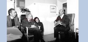 FOTOGRAFIE RARĂ. Tudor Gheorghe și Marin Sorescu, acasă la Emil Cioran