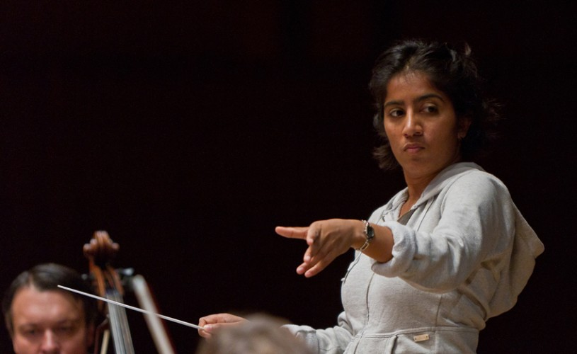 Maria Badstue, în premieră la pupitrul Orchestrei de Cameră Radio