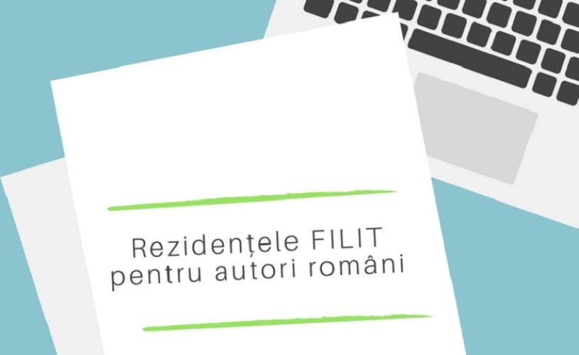 Rezidențele FILIT pentru autori români. Au început înscrierile