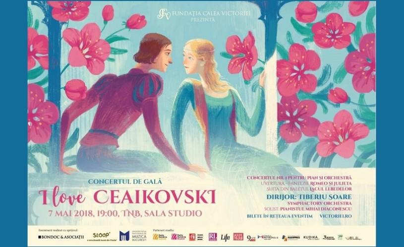 "Concert de Gala ""I love Ceaikovski"", la TNB"