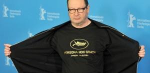 """Lars von Trier revine la Cannes, """"în afara competiţiei"""
