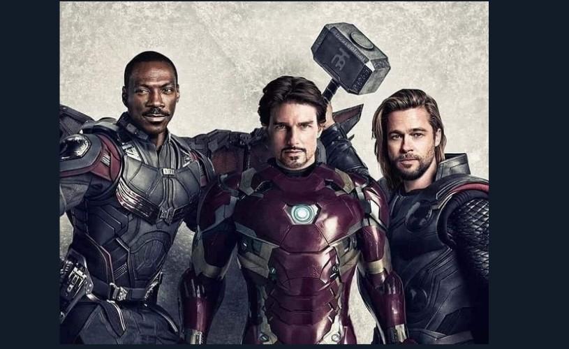 Dacă Brad Pitt, Tom Cruise, DiCaprio, Johnny Depp & Co ar fi jucat în… Avengers: Infinity War
