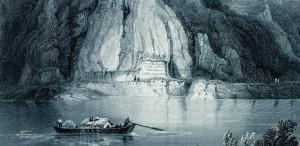 Călătorie pe Dunăre.  Reprezentări grafice şi cartografice din secolele XVII-XIX