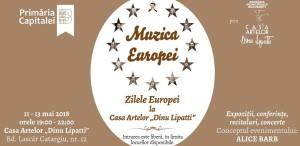 Symphactory Orchestra și dirijorul Tiberiu Soare, concert de Ziua Europei la Casa Artelor