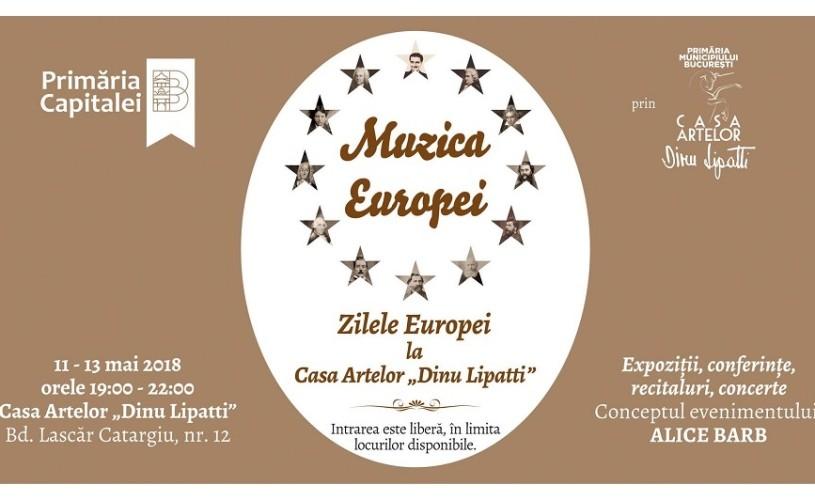 """Symphactory Orchestra și dirijorul Tiberiu Soare, concert de Ziua Europei la Casa Artelor """"Dinu Lipatti"""""""