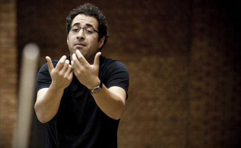 LEOHUSSAIN dirijează Enescu la Sala Radio