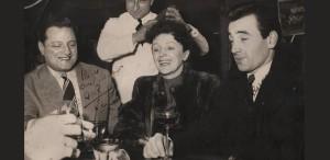 Undeva, cândva... Charles Aznavour & Edith Piaf