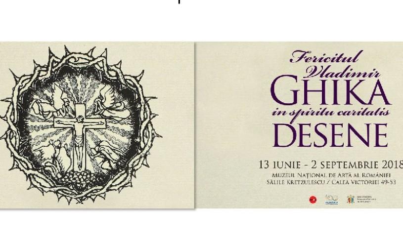 Peste 200 de desene și gravuri ale lui Vladimir Ghika, expuse în premieră la Muzeul Naţional de Artă al României