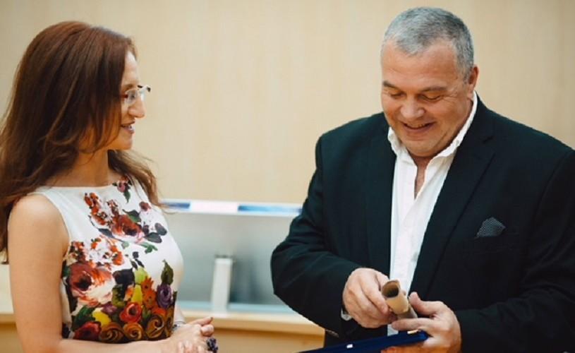 Constantin Chiriac a primit titlul de Cetățean de Onoare al Județului Sibiu