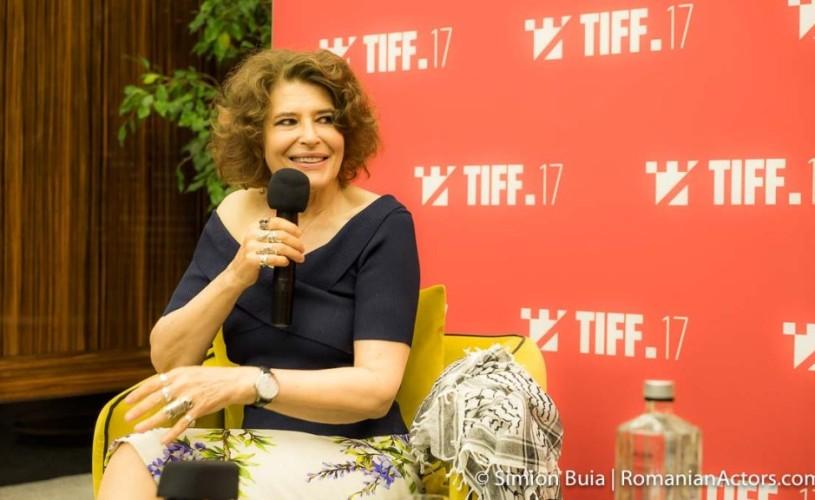 """TIFF (7) Fanny Ardant: """"Nu sunt deloc la modă"""""""