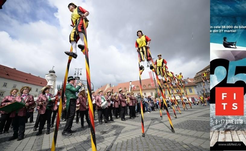 A început cea de-a XXV-a ediție a Festivalului Internațional de Teatru de la Sibiu