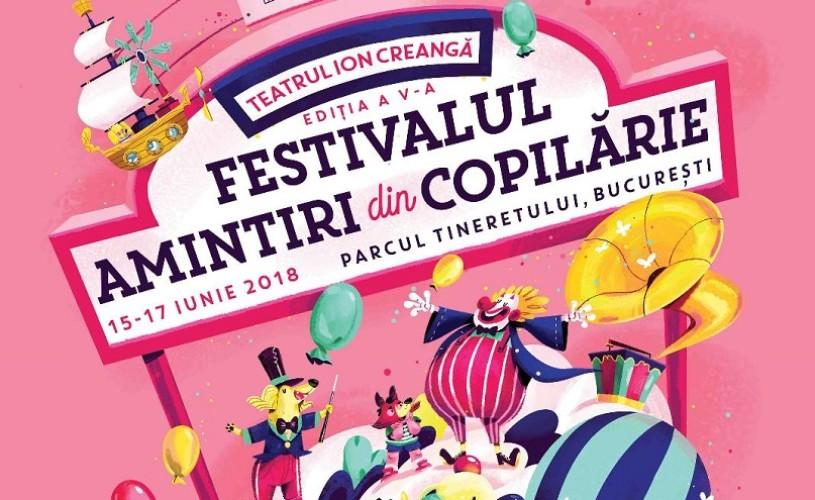 FESTIVALUL AMINTIRI DIN COPILĂRIE.15-17 iunie 2018, Parcul Tineretului, București