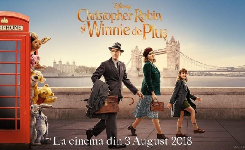 """""""Christopher Robin şi Winnie de Pluş"""", o aventură emoționantă despre prietenie și familie"""