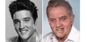 Cum ar fi arătat Elvis Presley, John Lennon, Kurt Cobain, Bob Marley sau Jim Morrison la adânci bâtrâneți?