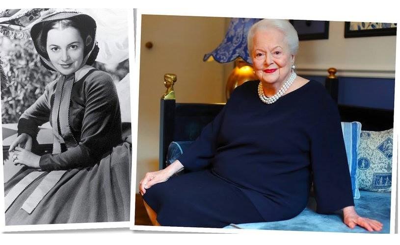 Olivia de Havilland, 102!