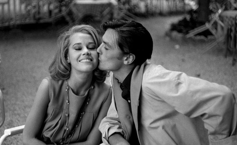 Undeva, cândva… Alain Delon & Jane Fonda