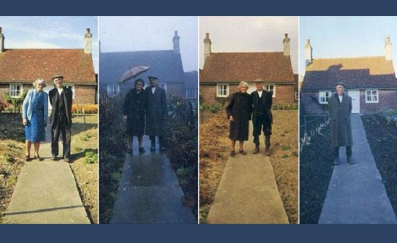 Undeva, cândva… Povestea unei iubiri (ne)sfârșite, în 12 fotografii