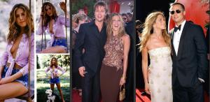 Undeva, cândva... Jennifer Aniston & Brad Pitt