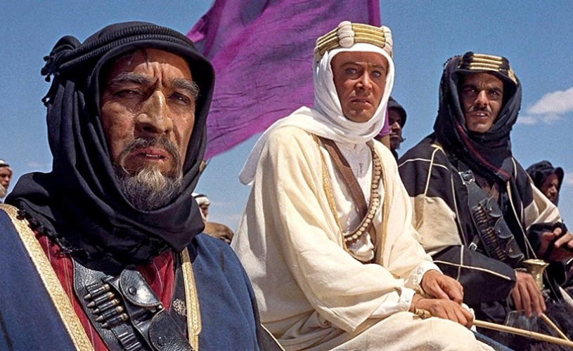 Undeva, cândva…  Anthony Quinn, Peter O'Toole și Omar Sharif