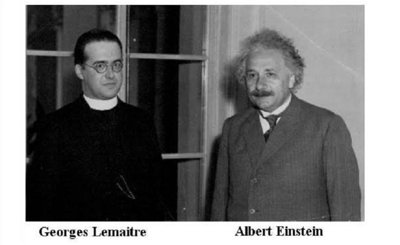 """Undeva, cândva… Einstein și """"Maestrul"""" (Lemaître)"""