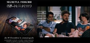 """A apărut trailerul filmului""""Secretul Fericirii"""", în regia lui Vlad Zamfirescu"""