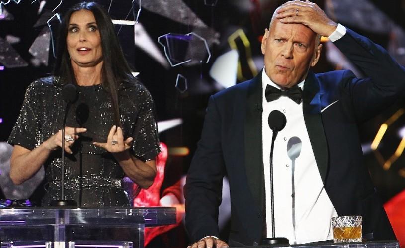 Demi Moore, glume și ironii pe seama fostului soț, Bruce Willis