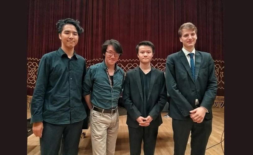 Premieră la Concursul Enescu 2018: patru tineri muzicieni, în Finala Secțiunii de Violoncel