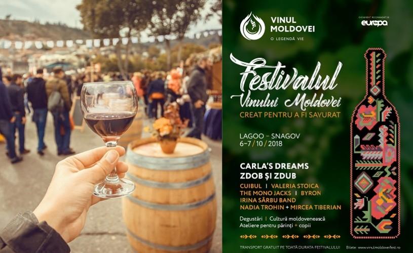 Festivalul Vinului Moldovei aduce gustul autentic moldovenesc în România