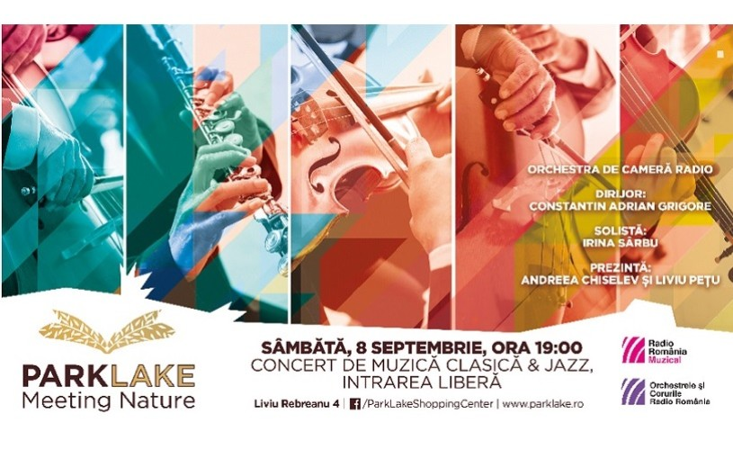 Simfonia culorilor de toamnă în Grădina ParkLake – concert al Orchestrei de Cameră Radio