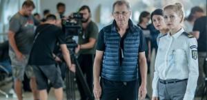 Horațiu Mălăele, filmări pe Aeroportul Henri Coandă pentru noul său film