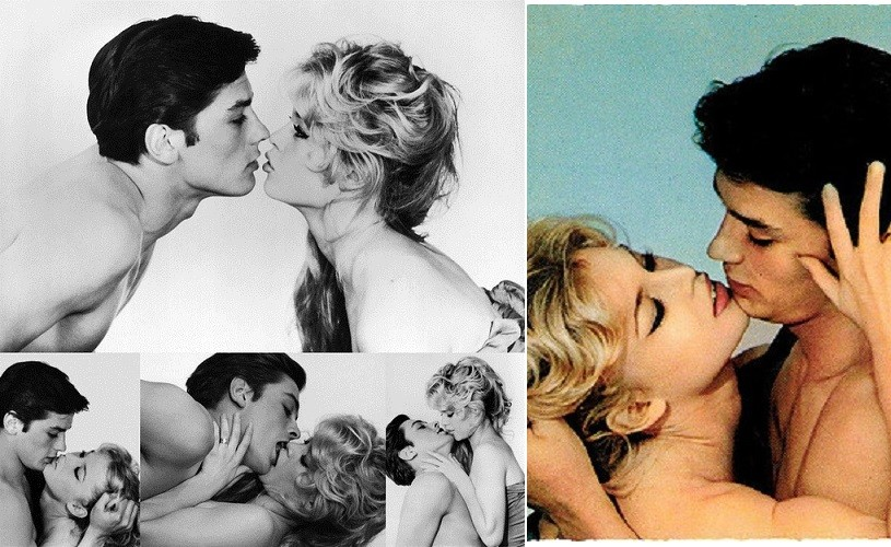 Undeva, cândva…Brigitte Bardot & Alain Delon