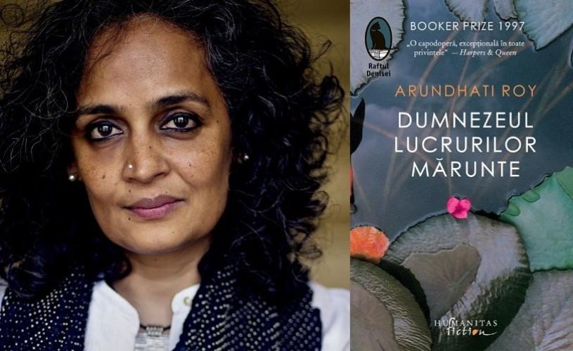 """""""Dumnezeul lucrurilor mărunte"""" de Arundhati Roy (Booker Prize 1997), la Humanitas Cişmigiu"""