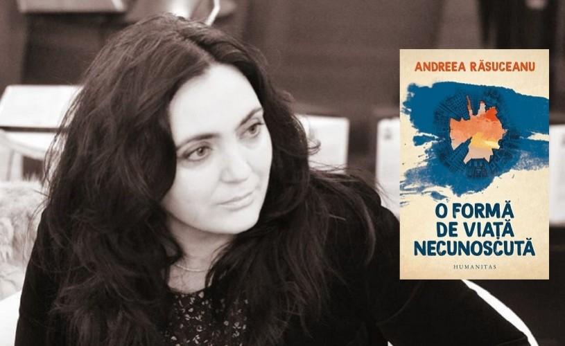 """Andreea Răsuceanu și Angelo Mitchievici despre """"O formă de viață necunoscută"""",la Humanitas Cișmigiu"""