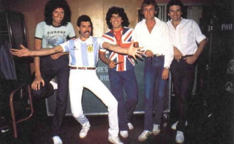 Undeva, cândva… Maradona & Freddy Mercury