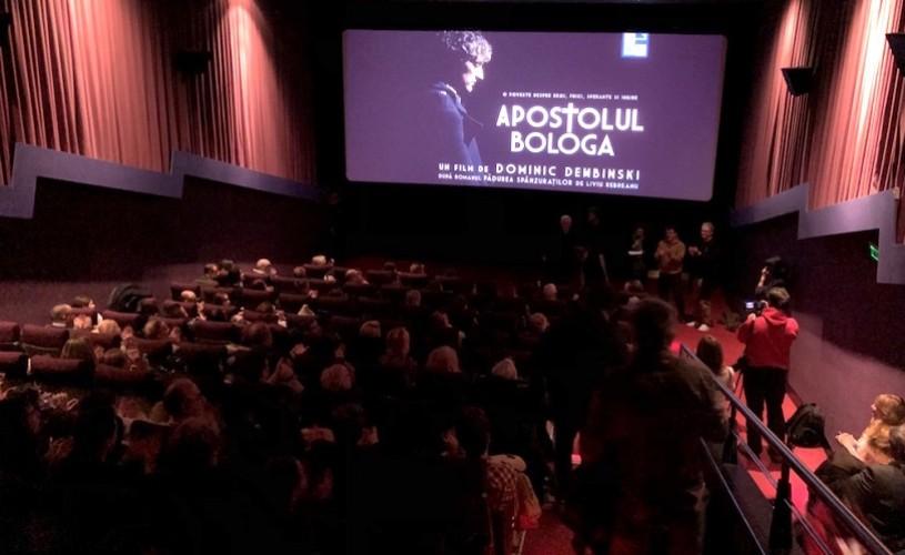 APOSTOLUL BOLOGA. Primele proiecţii cu public, la Bucureşti şi Londra