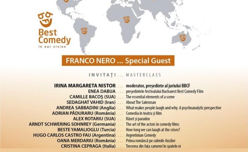 Personalități ale lumii filmului, la Bucharest Best Comedy Film