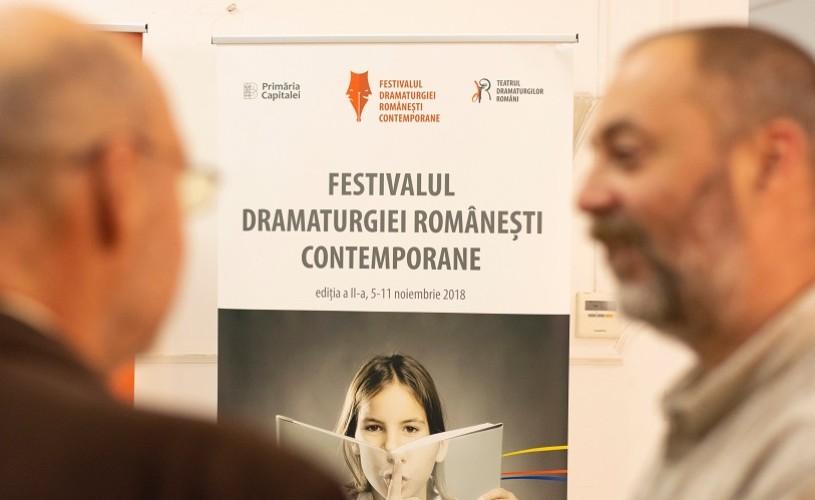 Festivalul Dramaturgiei Românești Contemporane continuă la TDR!