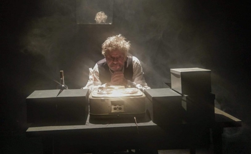 Ultima bandă a lui Krapp, de Samuel Beckett, în regia lui Toma Dănilă, la Unteatru