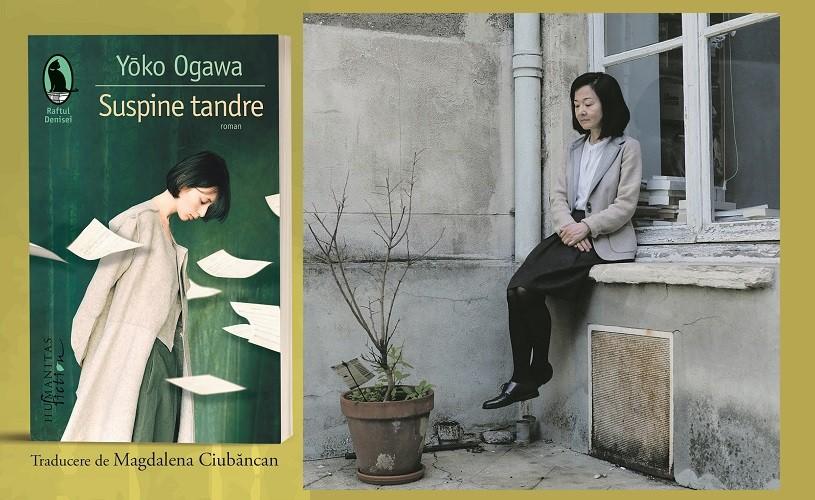 """Seară japoneză dedicată lansării romanului """"Suspine tandre"""" de Yōko Ogawa"""
