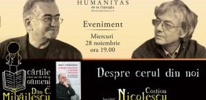 Dan C. Mihăilescu în dialog cu Costion Nicolescu -