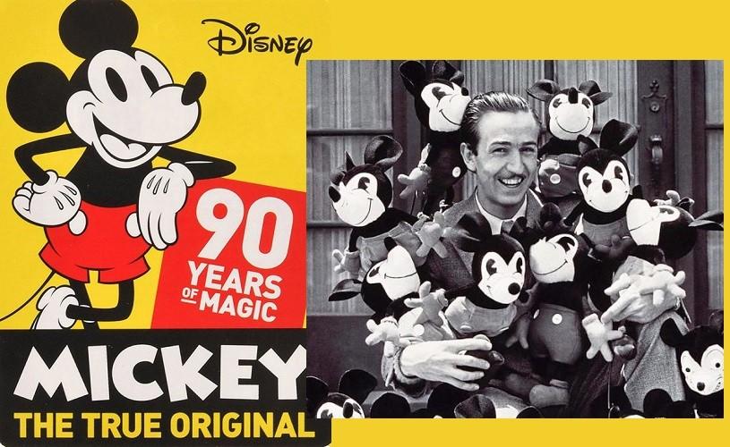 Mickey Mouse a împlinit 90 de ani!