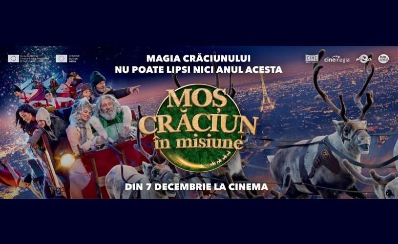 """""""Moș Crăciun în misiune"""" – din 7 decembrie la cinema"""