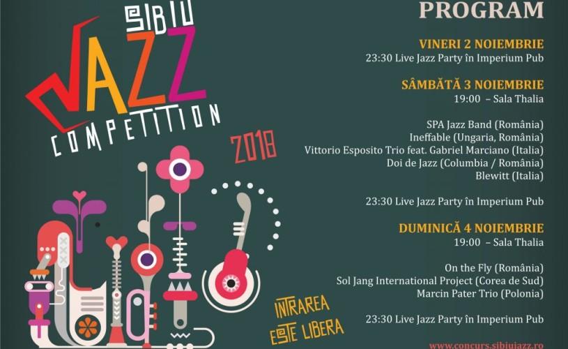 Începe Sibiu Jazz Competition 2018