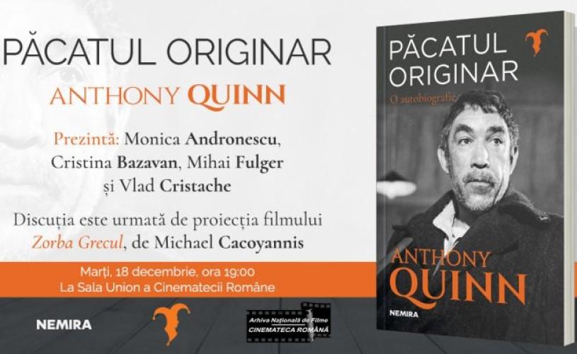 Întalnire cu Anthony Quinn la Cinemateca Română