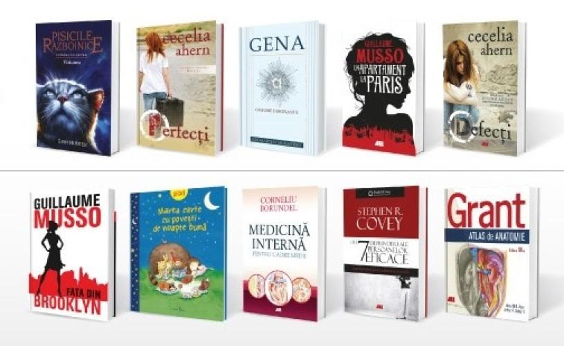 Cele mai vândute cărți ale Grupului Editorial ALL în 2018