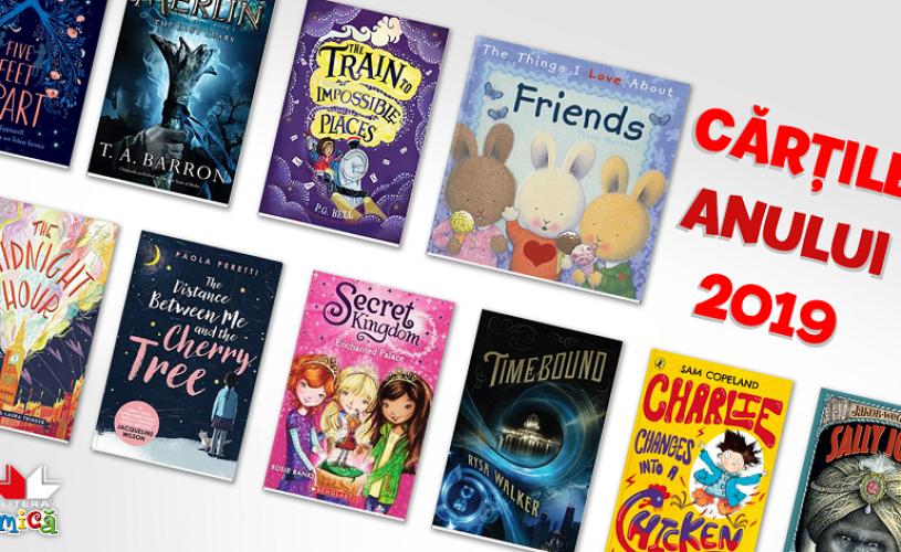 Cărțile anului 2019 pentru copii, de la Litera Mică